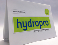 BRAND IDENTITY & PACKAGING - HYDROPRO