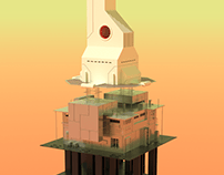 Anisotropic Tower