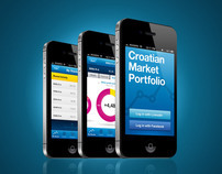 Croatian Market Portfolio iPhone App