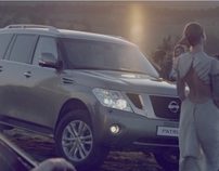 "NISSAN Patrol ""Welcome to off-road exclusivity"""