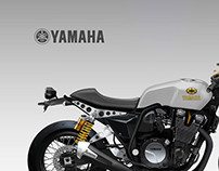 "YAMAHA XJR 1300 YARD BUILT ""Boulevard Racer"""