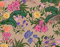 Botanical Print Design