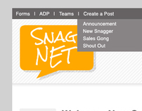 Snagajob : Intranet Design