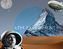 LTM Experiment CD packaging design.