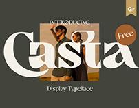 Casta - Free Typeface