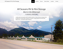 All Seasons Storage website