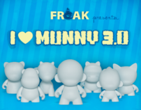FREAK STORE: I LOVE MUNNY 3.0 2011 X BURNER Wong