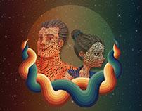 Redesign (Tipographic) Movie Poster - Iris
