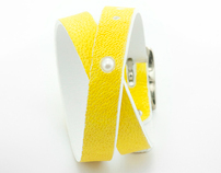 LIMONCELLO; lemon leather bracelets