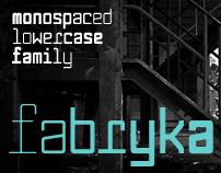 Fabryka (Typeface)