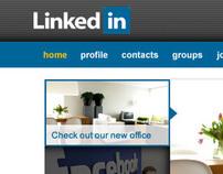LinkedIn Concept