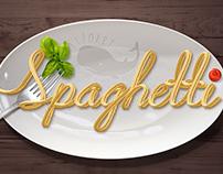 Spaghetti Text Effect