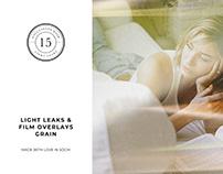 Light Leaks & Film Overlays Grain