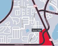 """Tuscany Village"" Map"