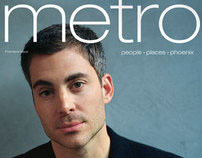 Metro magazine covers