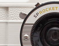 Lomography - White Sprocket Rocket Camera