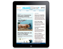 Fieldays Exhibitor - responsive online news journal.