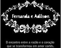 Convite de Casamento F&A