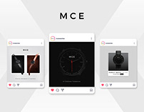 MCE Watches | Social Media Design