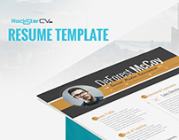 Resume Template Virgo