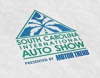 South Carolina International Auto Show Logo Design