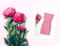 Charlene dress - Fashion Shop: Logo - dress - branding