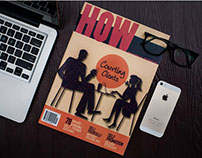 HOW- Magazine design.