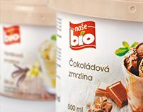 Ice creams packaging