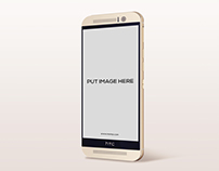 Free Htc Android Phone Mock-Up Psd Download