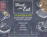Heat & Eat Poster Design