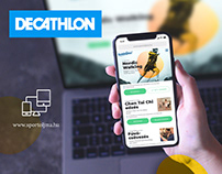 Decathlon // UI Design