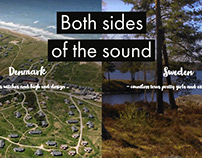 Both sides of the sound