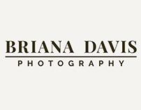 Briana Davis Photography - Logo & Branding Design