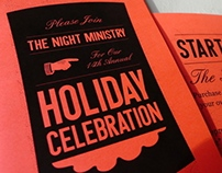 Holiday Celebration Brochure