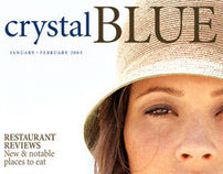 Editorial: Crystal Blue magazine covers