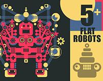 Big colorful robots