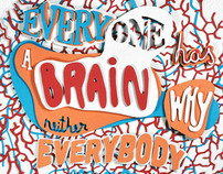 """If everyone has a brain why neither everybody thinks?"""