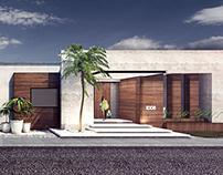 Fachada Casa R / House R Facade