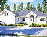 Projekt domu Rezydencja Parkowa 3 C