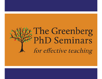 Brochure for The Greenberg PhD Seminars, CTRL, AU