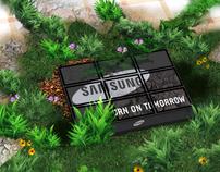 SAMSUNG INSTALATION BRANDING LED TV