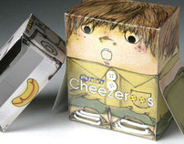 Julie's Cheese Biscuits Novelty Packaging Concept