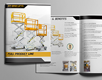 Hy-Brid Lifts by Custom Equipment Design & Branding