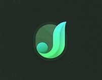 J Initial Logo
