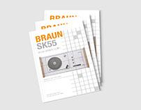 BRAUN SK55 - Design Report