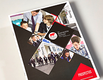 The Bulmershe School, Prospectus Design