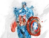 the Avengers - Captain America