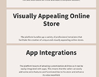 Benefits of choosing shopify for ecommerce store