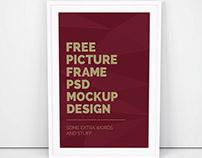 Free Artwork Frame PSD Mocup