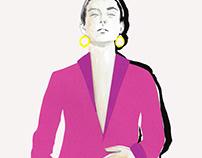 P A P E R C U T / Fashion Magazine Illustrations